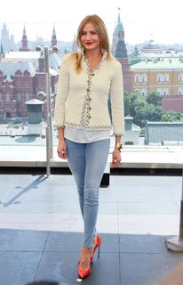 Steal Their Style: Cameron Diaz's Moscow Style