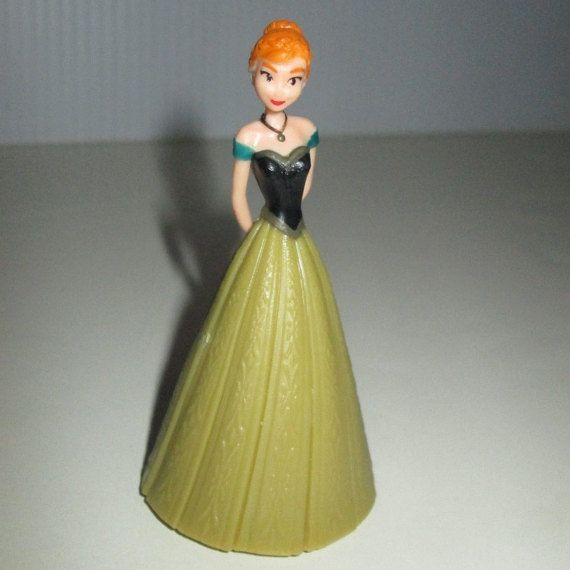 Disney Frozen Anna Cake Topper Birthday Figure by CakesNotIncluded