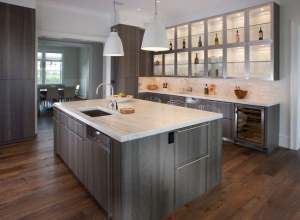 Fifty shades of grey design ideas and inspiration grey for Grey green kitchen cabinets