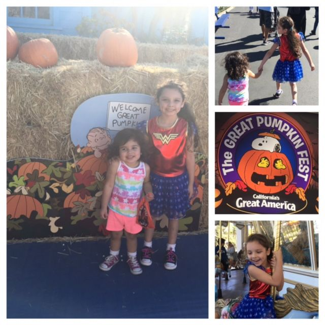 Great America celebrates the 50th anniversary of the movie It's The Great Pumpkin, Charlie Brown with special activities in Snoopy Land. Check out all the special family fun activities! http://modernlatina.com/?p=9195