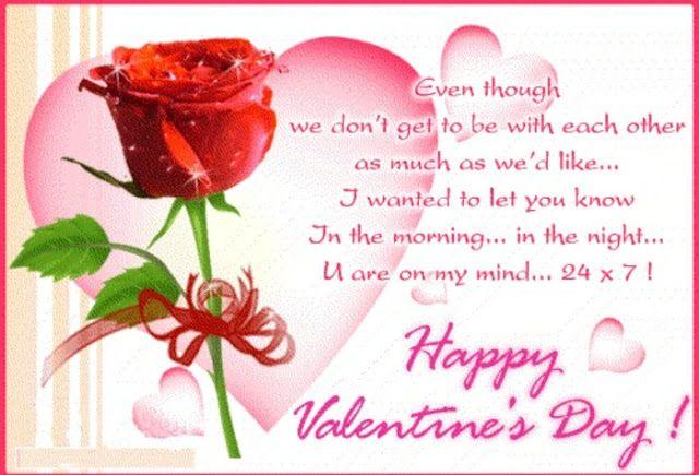 happy valentine day sms 2016 for girlfriend
