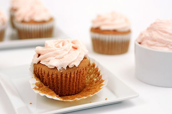 Paleo Guava Cupcakes with Whipped Guava Frosting
