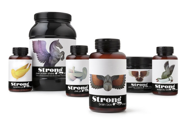 Packaging of the World: Creative Package Design Archive and Gallery: Strong