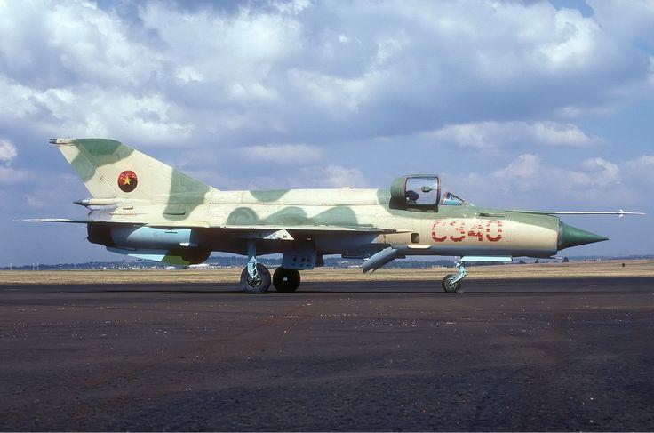 MiG-21 - Angola