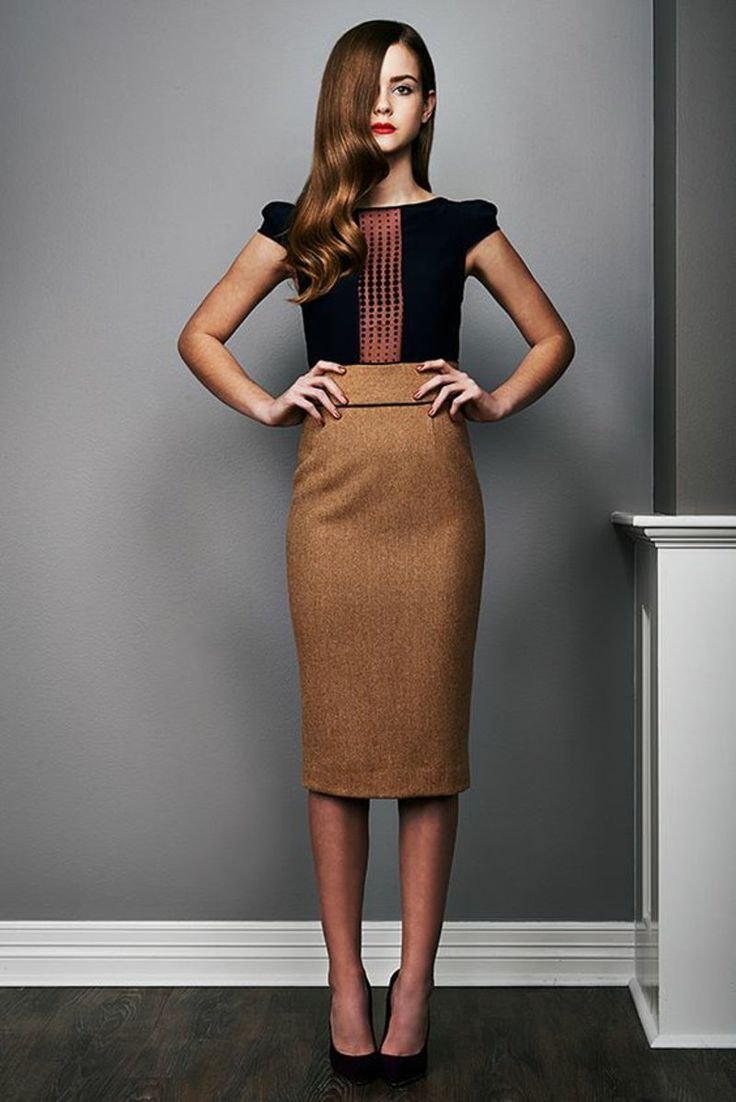 Business Looks für Frauen nach den aktuellen Trends 2016. Black SkirtsBrown Pencil  SkirtsPink ...