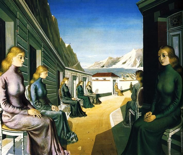 The Village of the Sirens, 1942 - Paul Delvaux