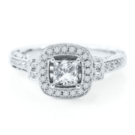 1 1/5ct TW Diamond Engagement Ring – Engagement Rings – Engagement & Wedding – H