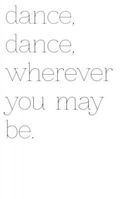 quotes about dance