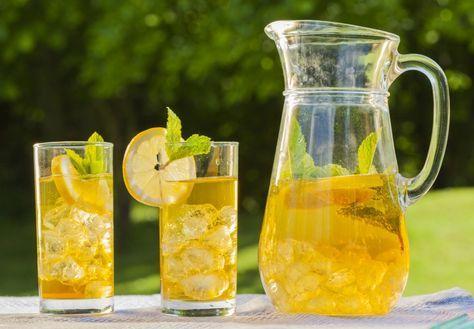 Jablečný ledový čaj
