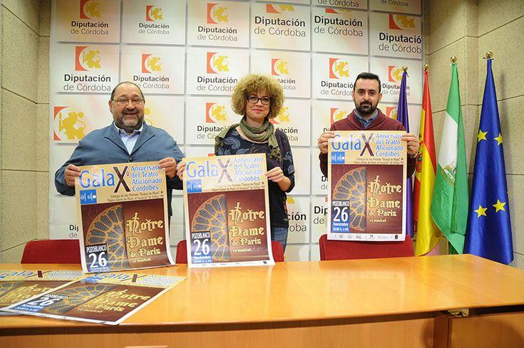 La Federación de Teatro Aficionado de Córdoba celebra en Pozoblanco el décimo aniversario de su fundación