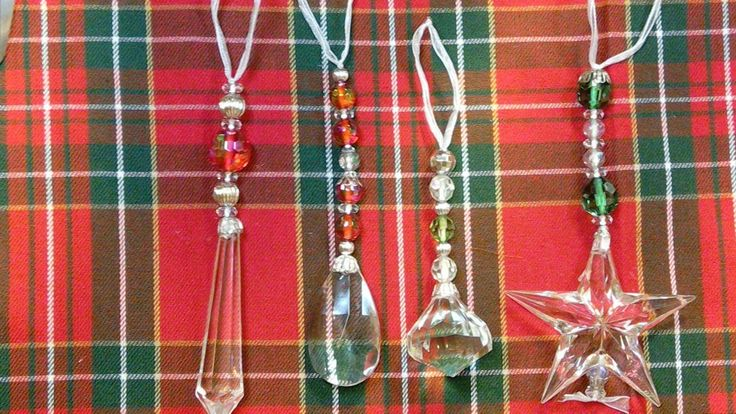 Newbie Beading Adventures:  Belly laughs and  Christmas Shiny Dangles