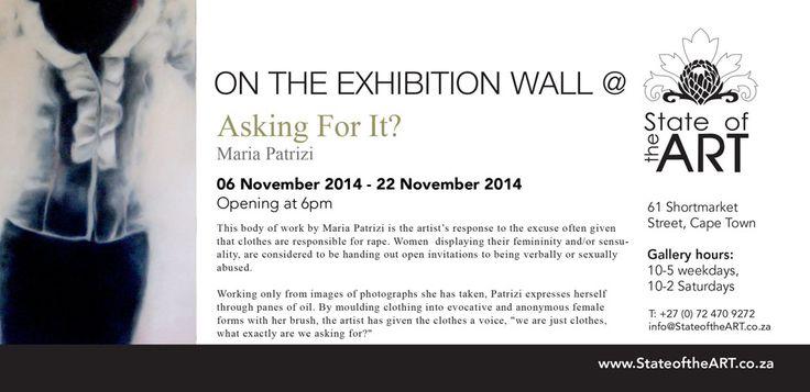 Exhibition extended til the 29th November