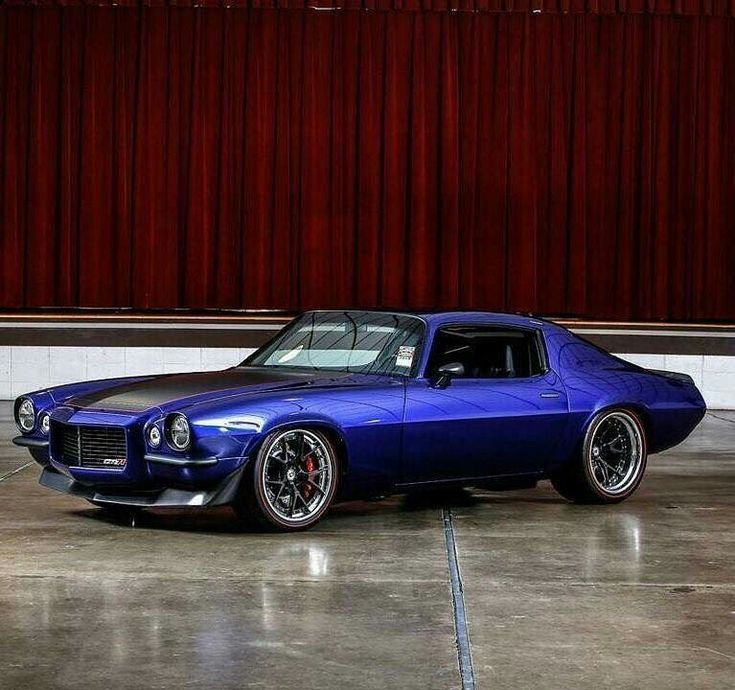 Stunning Custom 71 Chevy Camaro  #Split Bumper #Muscle Car #Chevrolet