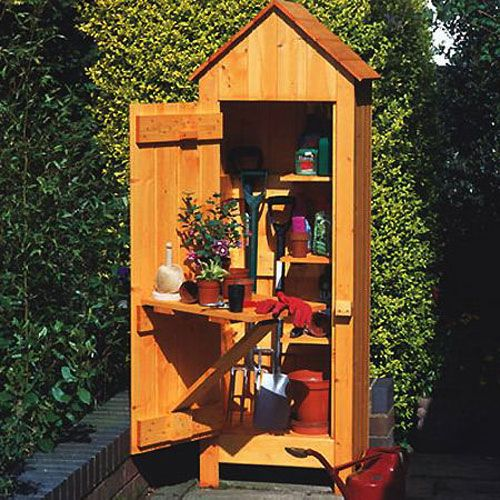 113 best images about garden shed on pinterest gardens for Garden tool shed designs