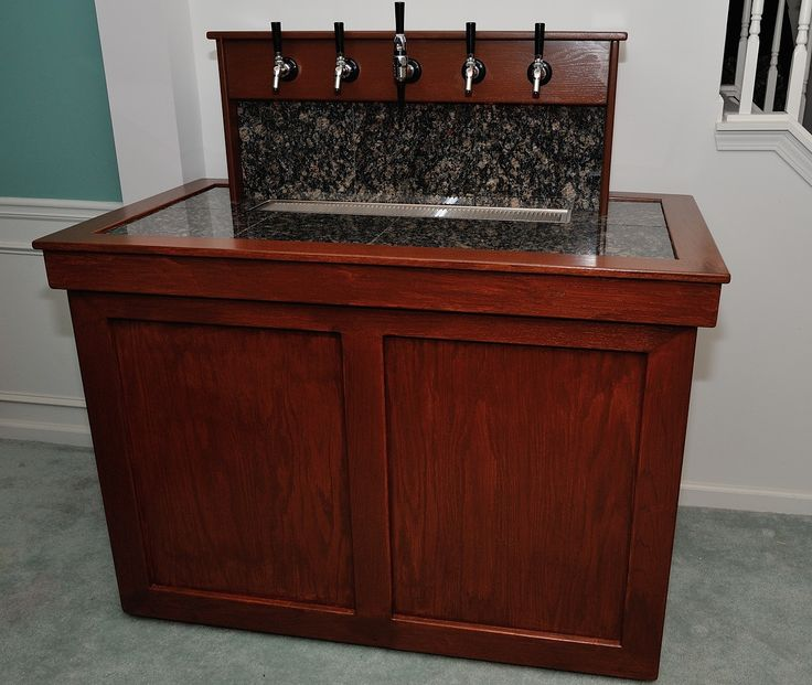Very nice!  Along the lines of what I want to build... just add some indirect LED lighting below the taps.