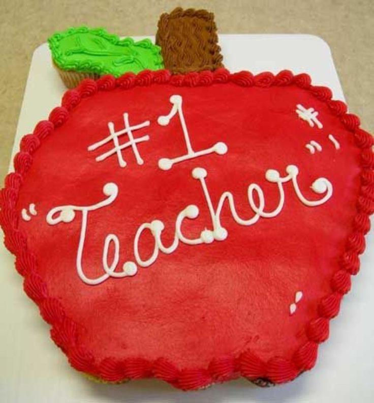 Cupcake Pull Apart Cake Teacher