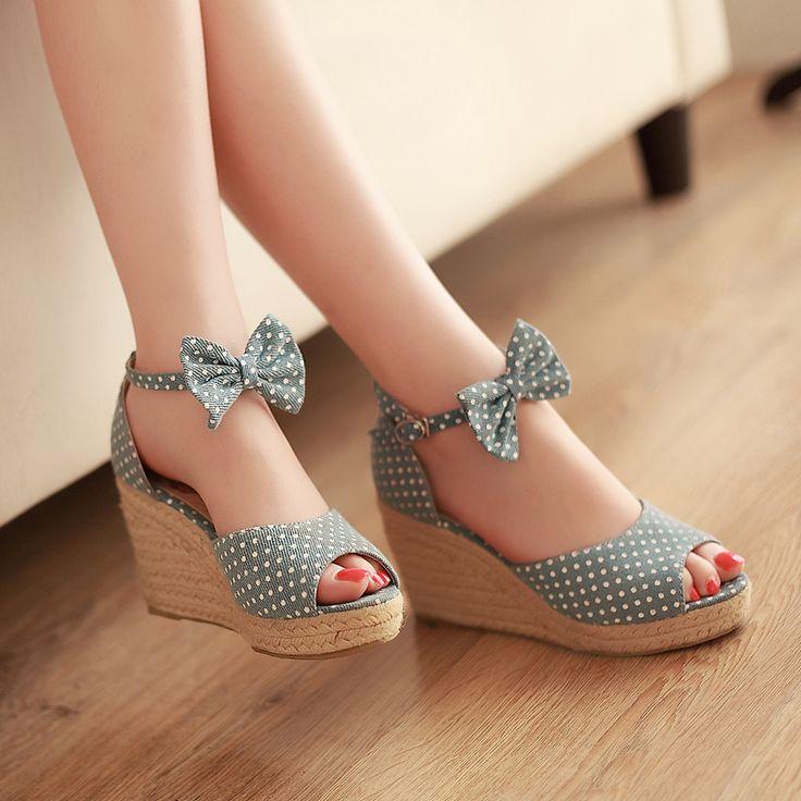Best 25  Ladies wedge shoes ideas on Pinterest | Platform high ...
