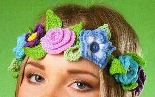 Tina's handicraft : crochet headband