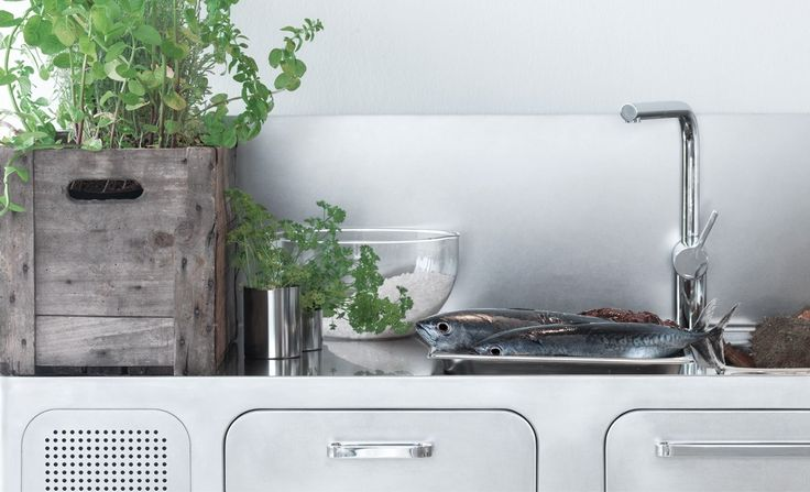 Professional stainless steel kitchen EGO by Abimis is a Prisma S.r.L. brandmark design Alberto Torsello