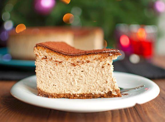 Tiramisu Cheesecake | http://thetoughcookie.com Tiramisu Cheesecake ...