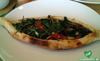 vegetarische türkische pizza rezept, vegane Diät rezept