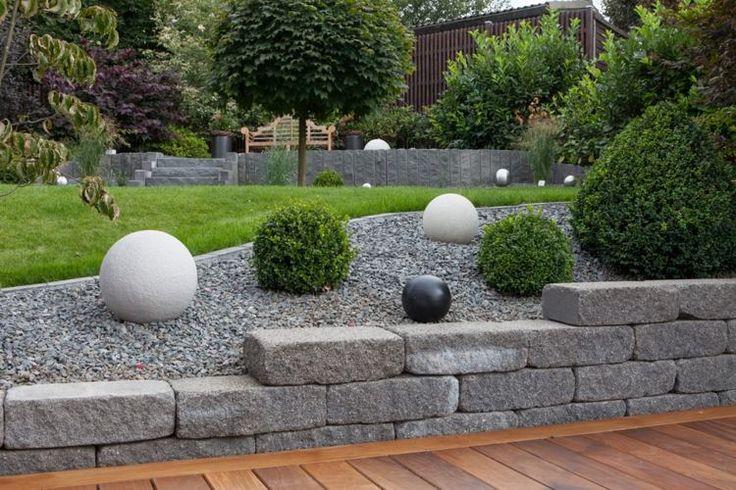 Gartengestaltungsideen steingarten anlegen mit passender for Wann garten anlegen