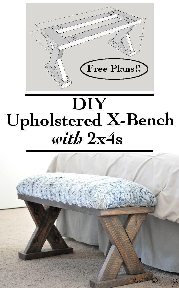 Best 25+ Diy wood bench ideas on Pinterest | Diy bench ...