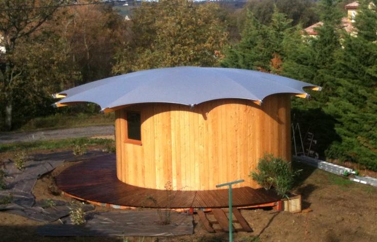 le Wazu rond, utilisé comme cabinet d'un thérapeute