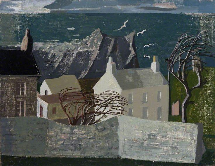 """""""Gurnard's Head"""" by Wilhelmina Barns-Graham, 1947 (oil on canvas)"""