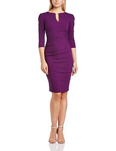 Hybrid Women's Jordan Body Con 3/4 Sleeve Dress, Purple (Plum), Size 6 Hybrid http://www.amazon.co.uk/dp/B00K8W27YM/ref=cm_sw_r_pi_dp_DBbHub1YSQVDK