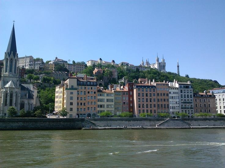 Quai Fulchiron, Lyon.