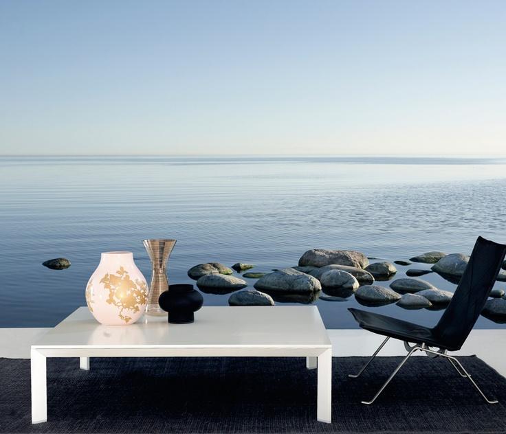 Swedish Ocean Horizon - Wall mural, Wallpaper, Photowall, Home decor, Fototapet, Valokuvatapetit