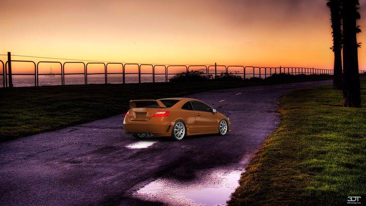 Checkout my tuning #Honda #CivicSi 2006 at 3DTuning #3dtuning #tuning