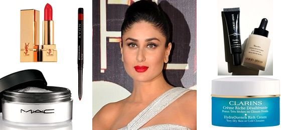 How to get Kareena Kapoors Red Carpet Make-up Look by Sana Majeed