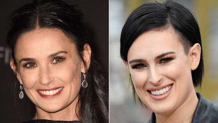 Celebrity Kids Who Look Just Like Their Famous Parents - Demi Moore and Rumor Willis  - from InStyle.com