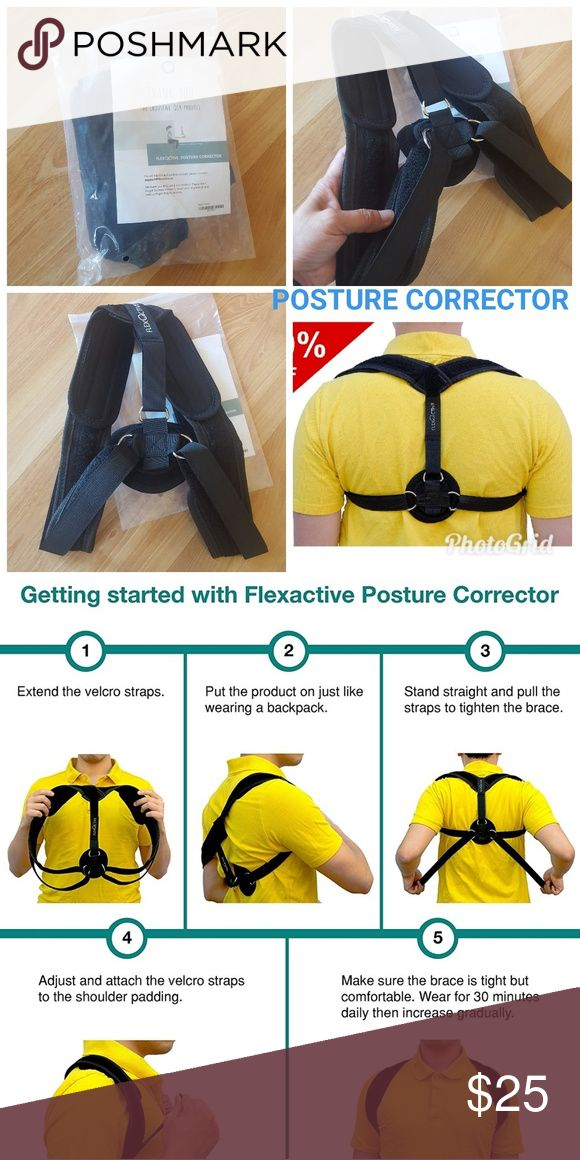 POSTURE CORRECTOR & CLAVICLE BRACE BRAND NEW: Posture Corrector & Clavicle Brace - Adjustable & Comfortable Back Support Figure 8 Medical Device to Improve Bad Slouching and Shoulder Alignment - Neck and Thoracic Pain Relief for Men and Women  CHECK OUT MY OTHER LISTINGS FOR MORE BRAND NEW VARIETY ITEM'S WITH STILL ON EACH ORIGINAL PACKAGING! ! AND GET DISCOUNT WHEN BUNDLING..JUST MESSAGE ME ANYTIME..HAPPY SHOPPING!  BUNDLE TO SAVE! ! Accessories