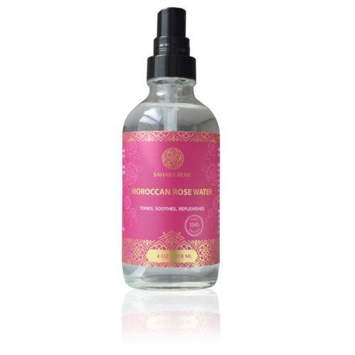sahara rose organic moroccan rose water toner mist spray