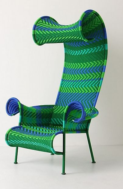 Have Always Loved This Chair From Anthropologie But In A Solid Color.