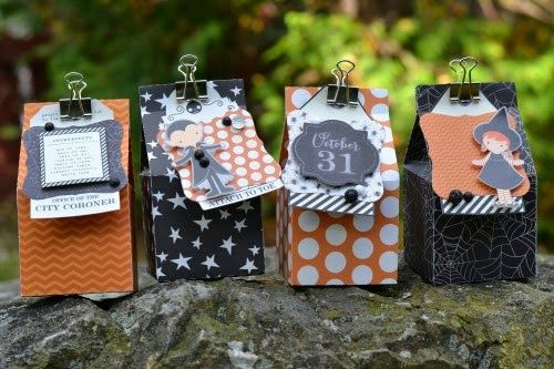 We're winding down the week, but we've honestly had so much fun sharing the Thirty-One line with you. Fortunately, we have a lot more Halloween fun coming your way throughout the month of October.Today we're lucky to have Design Team Member Marjan Pel with us. Marjan is sharing some cute Halloween treat boxes she created …