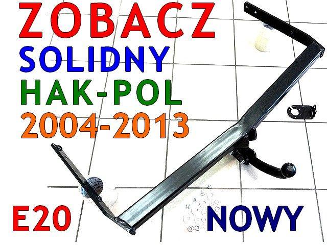HAK HOLOWNICZY SKODA OCTAVIA2 II HTB KOMBI od2004