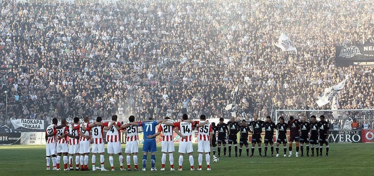 PAOK FC - Olympiacos 2009-2010, Playoffs, 1-0