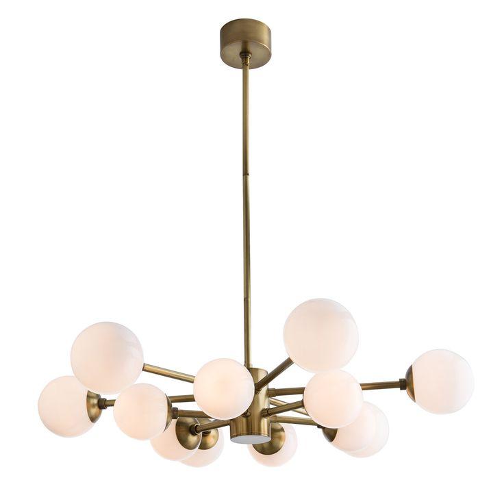 journee lighting. arteriors karrington antique brass chandelier zinc_door journee lighting