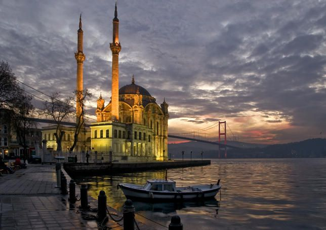 Waterfront Mosque Istanbul, Turkey