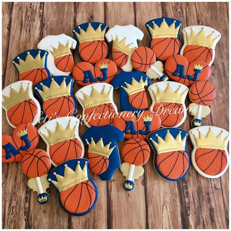 💙👑🏀Basketball Prince🏀👑💙 #basketball #basketballcookies #princebasketball #royalprincebabyshower #basketballbabyshower #cookies #cookieart #cookiedecorating #cookiesofinstagram #customcookies #customdecoratedcookies #decoratedcookies #decoratedsugarcookies #edibleart #handpainted #handpaintedcookies #hamptonroads #hamptonroadsva #royalicing #sugarcookies #dmv #dmvnetwork #vabch #vabeach #virginiabeach #letisconfectionerydreams #lcd #757 #757gt #757localbiz