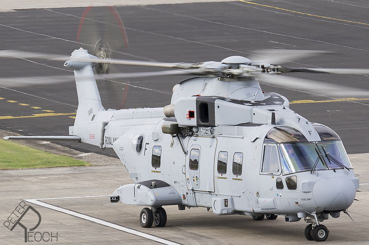 https://flic.kr/p/VH7EA8 | ZJ122 / Leonardo Helicopters / Merlin HC4 | The first Merlin helicopter upgraded from HC3i to HC4 standard by Leonardo Helicopters. Seen here at RNAS Yeovilton for a AVCAT refuel before embarking on deck trials.  The conversion of helicopters from HC3 > iHC3 > HC4 adds maritime configurations such as  folding tail assembly, modified undercarriage for deck operations, new deck mooring points and an avionics upgrade to include a 'glass cockpit' common to the Royal