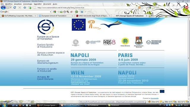 Puntata speciale dal Festival della Traduzione di Napoli (23 novembre 2010)