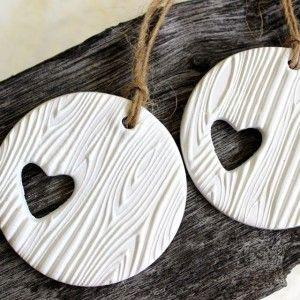 Prachtige handgemaakte klei labels, I love it!!