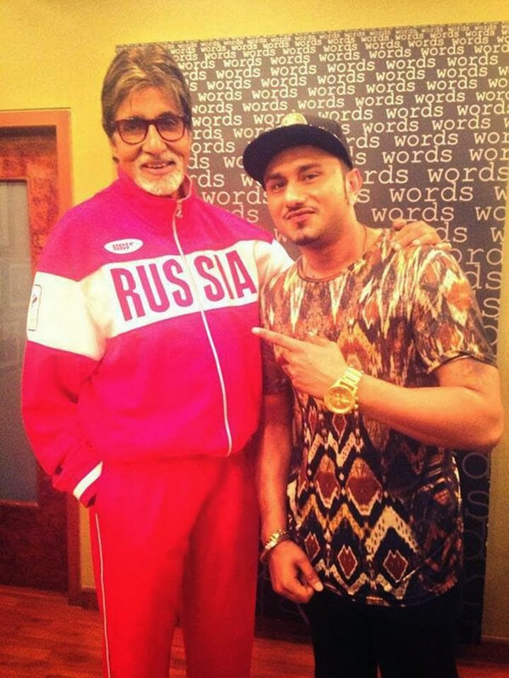 All you Big B aficionados out there, here's yet another special piece of news to keep you excited for the maestro's Bhoothnath Returns releasing on 11th April 2014. Bhushan Kumar of T-Series has brought together Mr Amitabh Bachchan and ace musician Yo Yo Honey Singh together for the very first time!!!