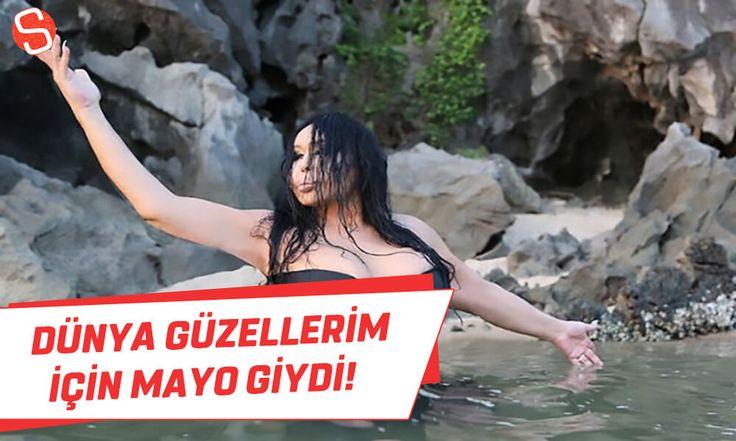 Bülent Ersoy, Dünya Güzellerim için mayo giyip, fotoğraf çektirdi! #bülentersoy #mayo #dünyagüzellerim