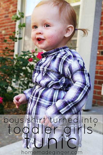 Repurposed shirtToddlers Tunics, Plaid Tunics, Girls Generation, Homemade Gingers, Toddler Girls, Toddlers Girls, Diy Toddlers, Boys Shirts, Repurpoed Shirts